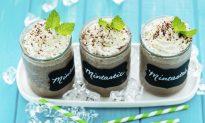Chocolate Mint Chip Shake