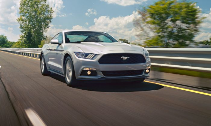 2015 Ford Mustang (Courtesy of Ford Motors)