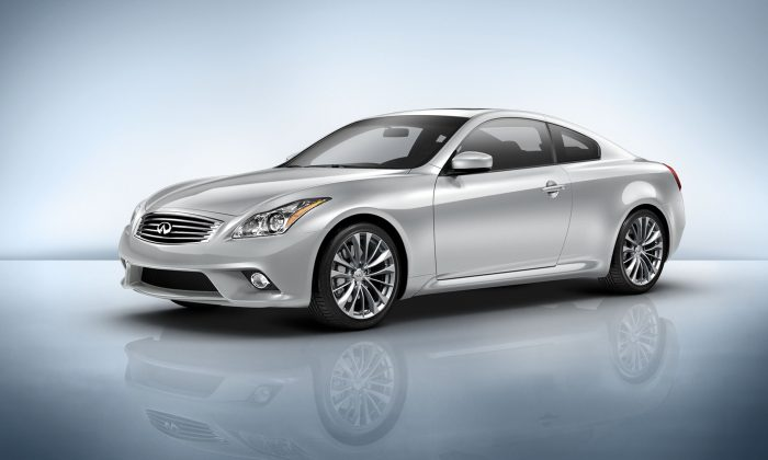 2015 Infiniti Q60 (Courtesy of Infiniti)