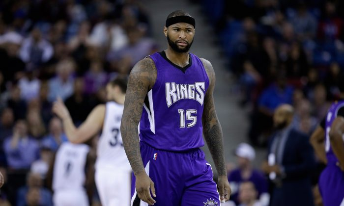 DeMarcus Cousins could soon be traded from the Sacramento Kings. (Ezra Shaw/Getty Images)