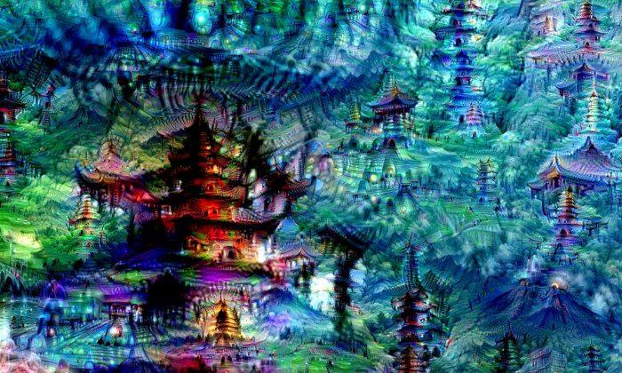 Neural net dreams (Google Research Blog).