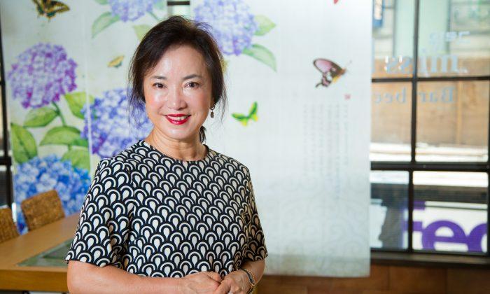 Sophia Lee at her Miss KOREA restaurant in Koreatown, Manhattan, on June 23, 2015. (Benjamin Chasteen/Epoch Times)