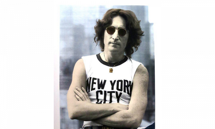 John Lennon of Beatles fame is pictured in this silk-screen portrait made by rock photographer Bob Gruen. Gruen returns to Canada for an exclusive photography exhibition and art sale at Toronto's Liss Gallery from June 23 until July 11, 2015. (The Canadian Press\HO\Bob Gruen)