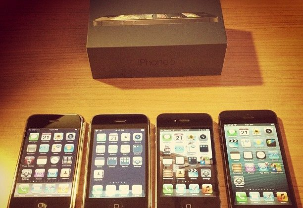 iPhone Original 3G, 4 and 5
