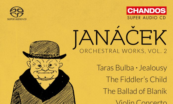 "The  cover of Janácek's album ""Orchestral Works Vol. 2""  (Chandos)"