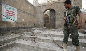 Iraq Official Blames ISIS for Bombing Sunni Mosques