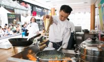 Chinese Chefs Compete for Gold in Times Square Culinary Competition