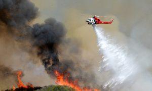 Wildfire Sends Campers Fleeing Glacier National Park