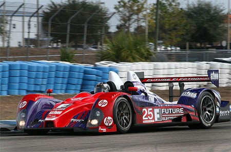 Dempsey Racing made an excellent ALMS debut, topping the LMPC class in its first outing. (James Fish/The Epoch Times)