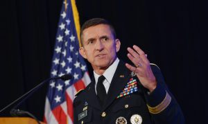 Michael Flynn Says Coup Against Trump Still in Progress in First Public Remarks Since Pardon