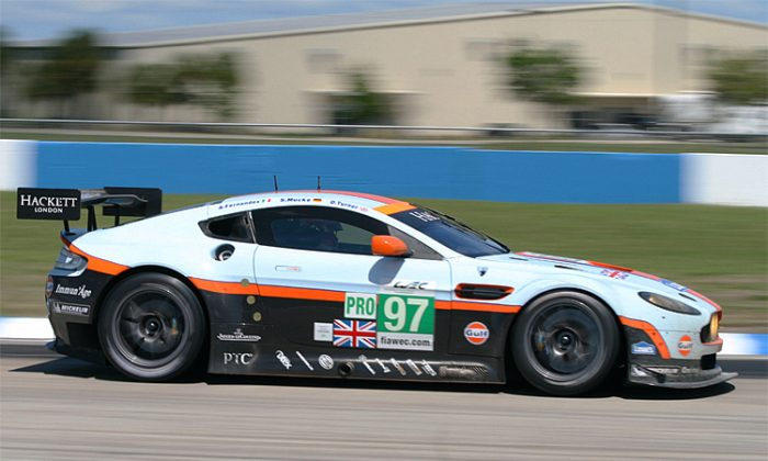 GT3 versions of this Aston Martin Vantage will be eligible for the ELMS GTC class. (James Fish/The Epoch Times)