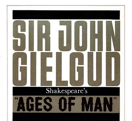 The Greatest Spoken-Word Album? Gielgud's 'Ages of Man' Is a Contender