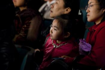 People all ages enjoy the Divine Performing Arts. (The Epoch Times)