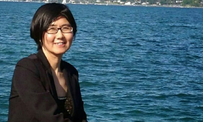 A well-known human rights lawyer, Wang Yu has  defended many clients in politically sensitive cases, like those involving human rights activists or religious practitioners. She was forcibly taken from her home by police officers on July 9, 2015 (guonengbin/weibo.com)