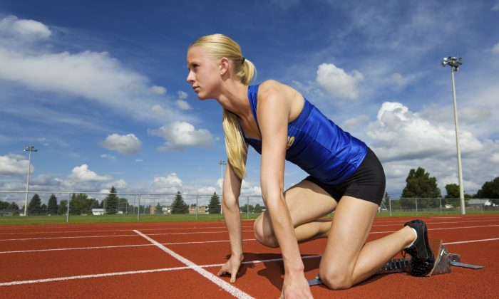 A new study looking at teen athletes finds that overuse injuries happens most often among female runners.  (SteveMcsweeny/iStock)