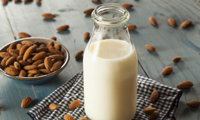 A stock photo of almond milk. (bhofack2/iStock)