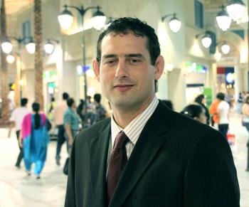 John Cornett, USA (living in Dubai)