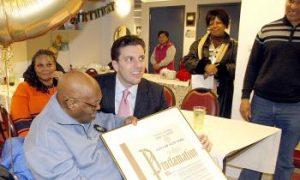Woodside Resident Celebrates 100th Birthday