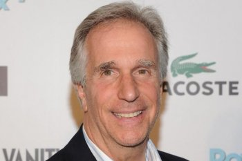 Henry Winkler at Lacoste Fifth Avenue Boutique on June 1, in New York City. ( Jason Kempin/Getty Images)