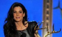 Sandra Bullock Makes Appearance On Spike