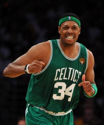 Paul Pierce's last second shot ended the Knicks eight-game win streak on Wednesday.