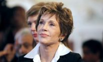 Jane Fonda Awarded Great Medal in Paris