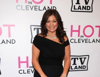 Valerie Bertinelli and Tom Vitale were married in front of about 100 guests at their Malibu, Calif. home. (Bryan Bedder/Getty Images)
