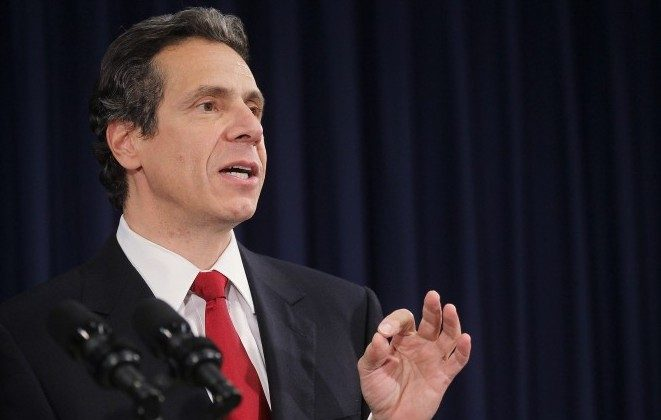 Andrew Cuomo speaks at a press conference Nov. 9, 2010 before becoming Governor about budget cuts, taxes, and the state of the economy. (Mario Tama/Getty Images)