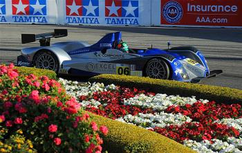 Gunnar Jeannette and Ricardo Gonzalez teamed up foer the ZLMPC class win. (Courtesy americanlemans.com)