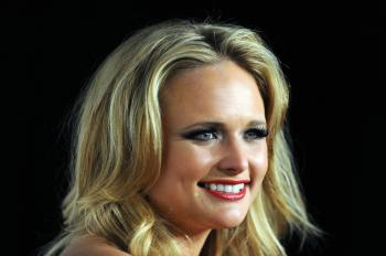 Miranda Lambert poses in the press room at the Grammy Nominations Concert, Dec. 1, 2010 at Club Nokia in downtown Los Angeles. (Gabriel Bouys/AFP/Getty Images)