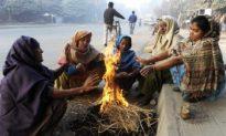 Severe Cold Strikes India