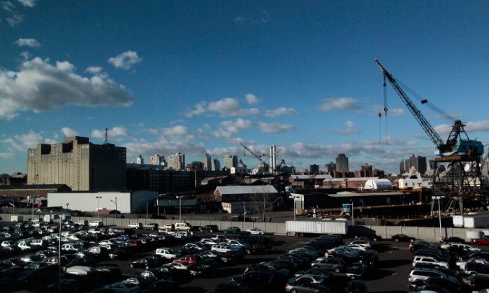 The Brooklyn Navy Yard is seen December 8, 2010 in the Brooklyn borough of New York City. (Chris Hondros/Getty Images)