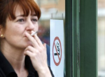 A new storybook from the Centre for Addiction and Mental Health aims to help children who worry about their parents' smoking habit. (Cesar Manso/AFP/Getty Images)