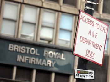 Bristol Royal Infirmary, which is ear-marked for a multi-million pound refurbishment, has wards dating back to 1735. One in five NHS buildings were built before 1948, the year the NHS service was founded, a report by the Department of Health found. (Matt Cardy/Getty Images)