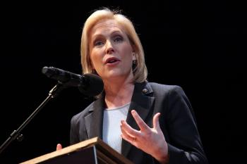 NY Senator Kirsten Gillibrand attends the 25th annual Brooklyn tribute to Martin Luther King Jr. at BAM Howard Gilman Opera House on January 17, 2011 in the Brooklyn borough of New York City.  (Astrid Stawiarz/Getty Images)