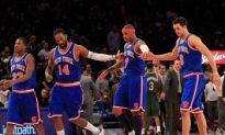 Douglas Leads Knicks Over Hornets