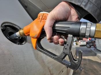 FUELED FUEL: Oil prices were fueled by the surging Euro. (Philippe Huguen/AFP/Getty Images)