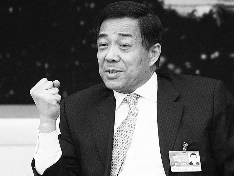 Bo Xilai in March of 2011