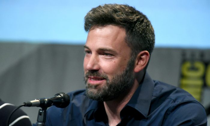 """Ben Affleck attends the """"Batman v Superman: Dawn of Justice"""" panel on Day 3 of Comic-Con International in San Diego, California on July 11, 2015. (Photo by Richard Shotwell/Invision/AP)"""