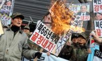 North Koreans Take to the Streets