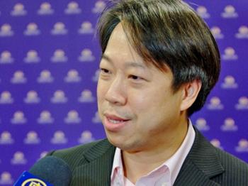Mr. Tai, Cheuk-yin Leslie Spencer, former member of Hong Kong Legislative Council (Li Yuan/The Epoch Times)