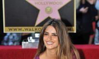 Penelope Cruz Gets Star on Hollywood Walk of Fame