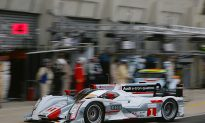 Audi 1–2–3 After Two Hours at Le Mans 24