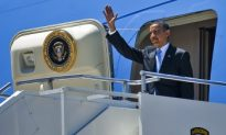Air Force One Lands Safely Following Routine Go Around