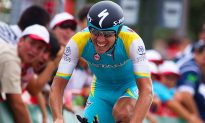 Kessiakoff Wins Vuelta Time Trial, Rodriguez Keeps Red