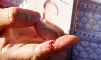 NTDTV Reporter Attacked at Fukien American Association