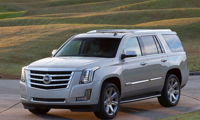 2015 Cadillac Escalade (Courtesy of NetCarShow.com)