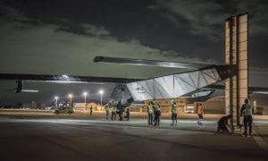 Solar Plane Grounded With Damaged Batteries After 4,000-Mile Flight