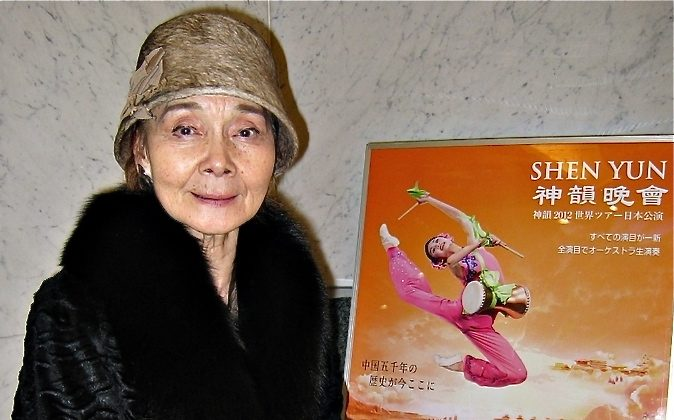 Ms. Takagi owns a dance institute. She has taught many students, including Yoko Morishita and Junko Abe, famous and active ballet dancers of the dance community in Japan. (Ren Zihui/The Epoch Times)