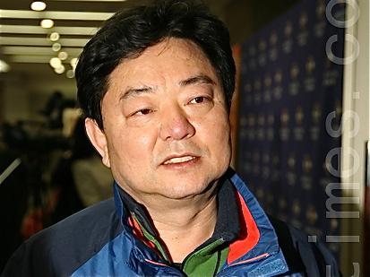 Mr. Kim Hyeing Ryeol, Member of Parliament and former Mayor of Suseong district, Daegu Metropolitan City. (Li Shijong/The Epoch Times)